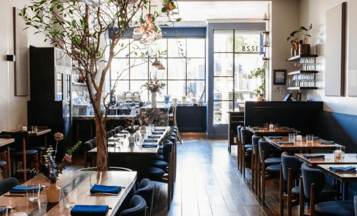 Sorrel Restaurant interior