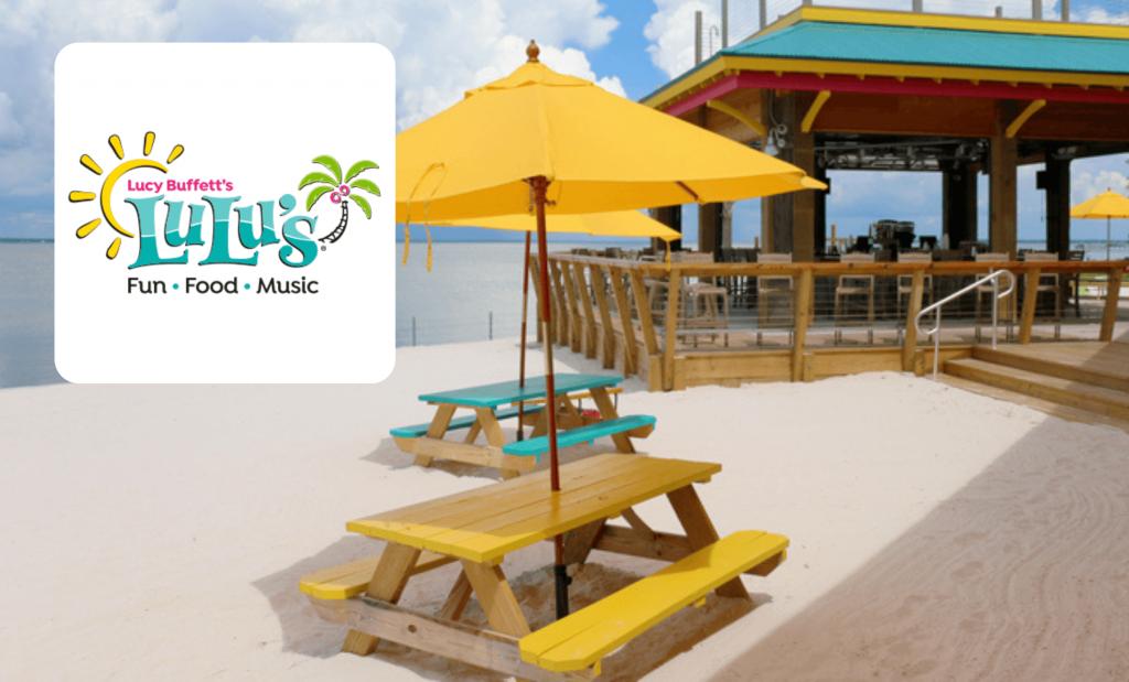 Beach restaurant LuLu's logo