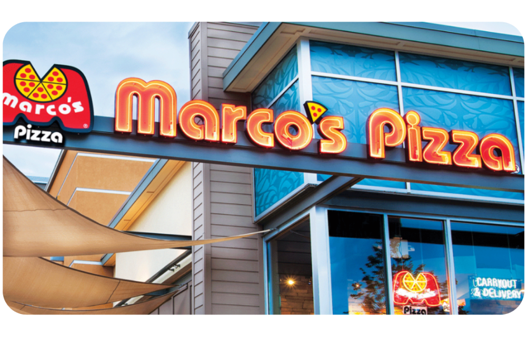 Marco's pizza storefront